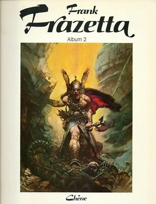 Eo 1977 Betty Ballantine : L'art Fantastique De Frank Frazetta, Tome 2