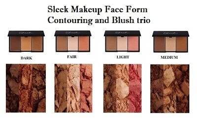 Sleek Makeup Face Form Contouring and Blush Palette face kit - All Shades
