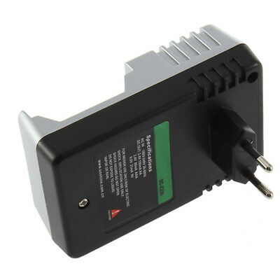 110V-240V Rechargeable Battery Wall Charger AA AAA 9V Ni-Mh Ni-Cd EU Plug