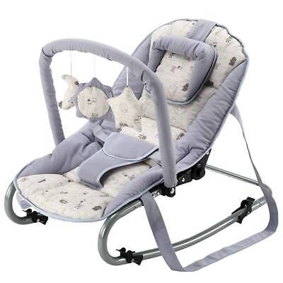 BABY-PLUS Wippe Bella C 17-07 (Grey/Animal)
