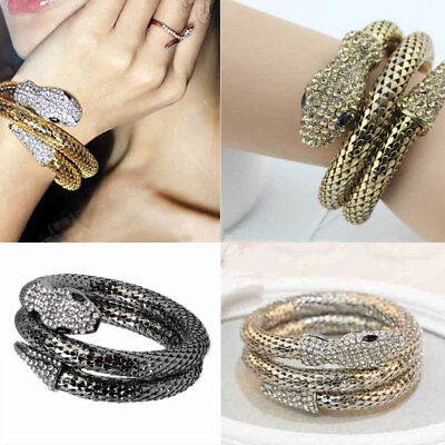 Ladies Women Fashion Adjustable Multilayer Wristband Cuff Punk Bracelet Bangle