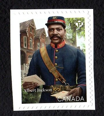 Canada 2019 Albert Jackson ; Single from Booklet ;  MINT NH VF