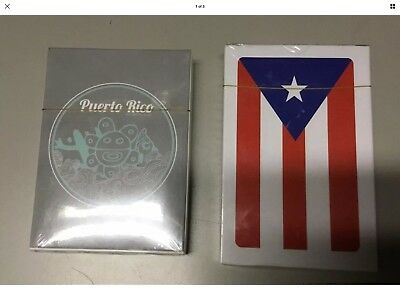 Puerto Rico Spanish Playing Cards Baraja Espanola Briscas NAIPES  COMAS 2 Packs