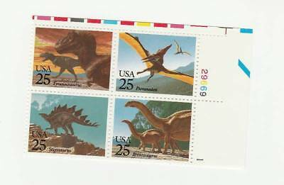 Scott # 2422 - 2425  US Dinosaurs  M/NH  O/G  4 Stamps