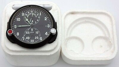 "Soviet AirForce Cockpit Clock ACS-1 ""K"" / AChS-1 ""K"" for Su/MiG, NOS, in BOX!"