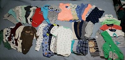 3 month Baby Boy Clothes one pieces pants bodysuit shirts sweaters shorts