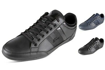 12b45f317 Lacoste Chaymon 119 2 Mens Casual Shoes Lace Up Leather Fashion Sneakers