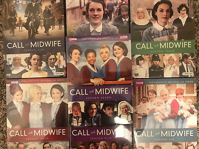 Call The Midwife Seasons One-Seven (1-7 Bundled Set) New