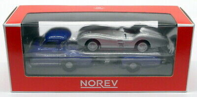 Norev Models 1/64 Scale 311000 - Mercedes Benz Racing Car Transporter Truck