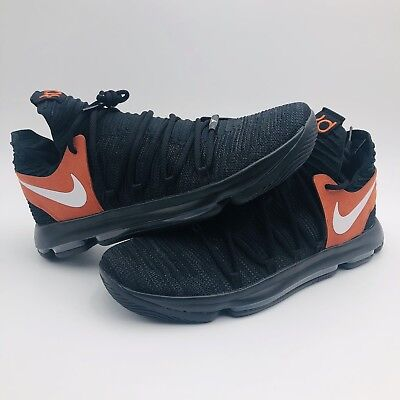0a7b68fa41af Nike Zoom KD10 Texas Longhorns Promo 938150 001 HTF Men s Size 17 Rare New  DS