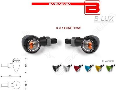 Frecce S-LED 3 BLUX Luci POSIZIONE STOP KAWASAKI Zephyr 750 ZF-D 650 ZJ 400