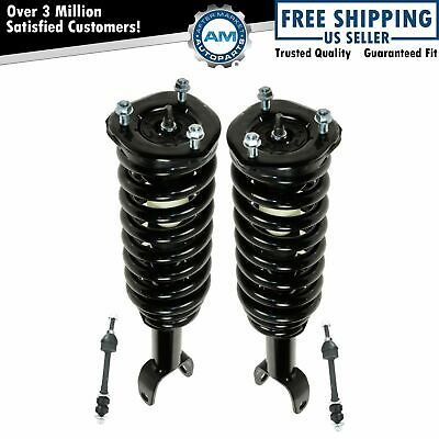 Front Suspension Kit Strut & Spring Assemblies with Sway Links for Dodge New