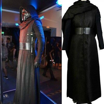 Hot!! NEW Star Wars 7 VII The Force Awakens Kylo Ren Cosplay Costume Outfit