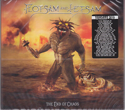 FLOTSAM AND JETSAM 2019 CD - The End Of Chaos (Digi.) Metallica/Metal Church NEW
