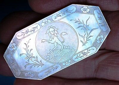 Antique Chinese  Mother Of Pearl Armorial Gaming Counters  Chips