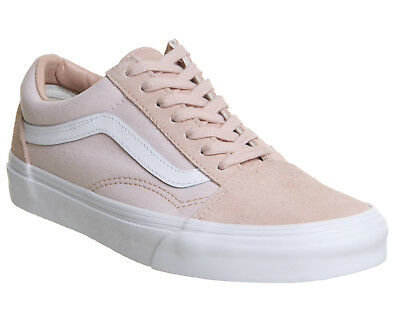 398b004ad7 Womens Vans Pink Suede Lace Up Trainers Size UK 4  Ex-Display