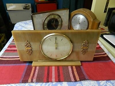 vintage Tempora mantle clock
