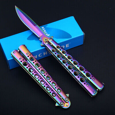 Coltello Butterfly Benchmade Prisma Da Collezione Edc Hunt Survival Balisong