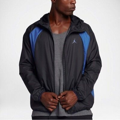 8e9697e03 NIKE AIR JORDAN Wings Lightweight Windbreaker New, Jacket Gray ...