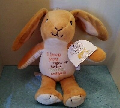 I Love You To The Moon And Back Plush Message Bear Toy Gift Stuffed