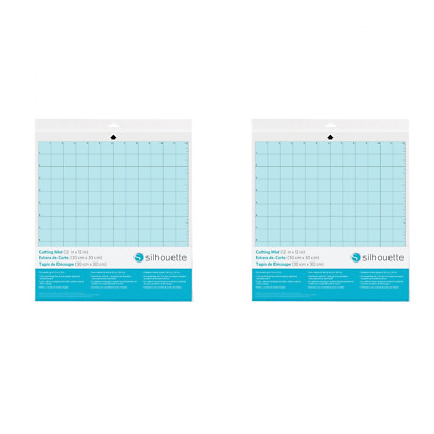 Silhouettes Cameo Cutting Mat-Twin Pack, Blue, 34.3 x 33 x 0.1 cm
