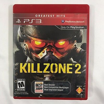 KILLZONE 2 Game Sony PlayStation 3 PS3 Video Games Complete WORKS 2009