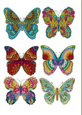 Colourful Butterflies - iron on transfers