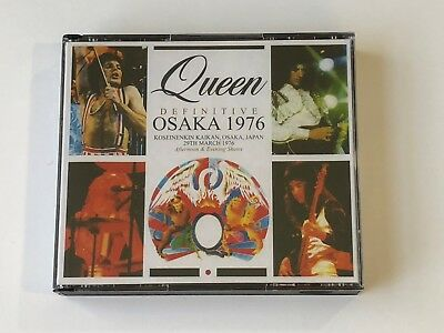 QUEEN 1976 Live Early Rare 4CD