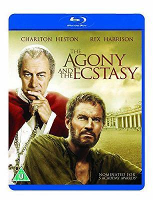 The Agony And The Ecstasy [Blu-Ray] [1965 ], Nuevo, DVD, Libre