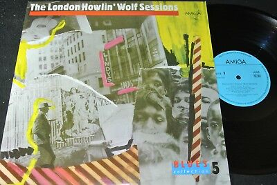 BLUES COLLECTION 5: The London Howlin' Wolf Session / DDR LP 1987 AMIGA 856242
