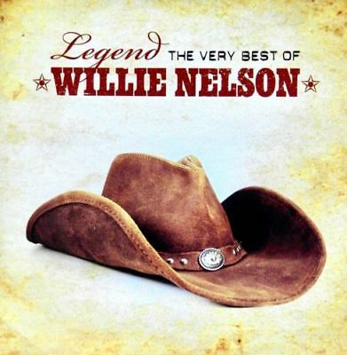 WILLIE NELSON Legend The Very Best Of CD BRAND NEW