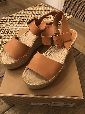 0daf5309df08 Soludos Women s Minorca Leather High Platform Wedge Sandal TW4 Nude Size  US 7