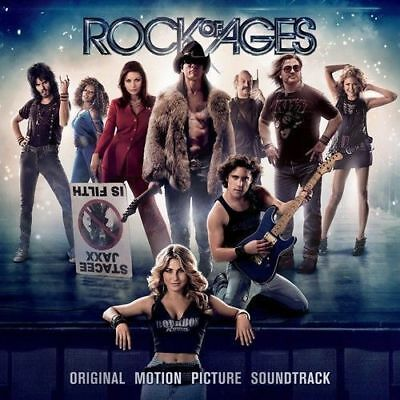 ROCK OF AGES Original Soundtrack (Gold Series) CD BRAND NEW Tom Cruise