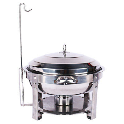 Stainless Steel Bain Marie Chafing Dishes Buffet Food Warmer Hotpot Pan Heater