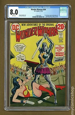 Wonder Woman (1st Series DC) #204 1973 CGC 8.0 1298815004