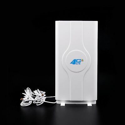 Indoor Blazing Fast 3G 4G 88dBi LTE MIMO Antenna 700MHz-2600MHz 2M TS-9 Wire MT