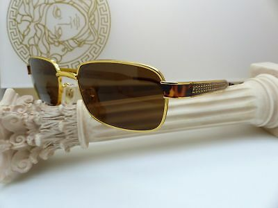 c0a34cbaa7 Genuine Rare Vintage Gianni Versace Sunglasses Mod. S29 Col. 54M New Old  Stock