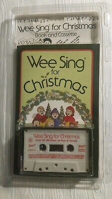 Wee Sing for Christmas Book and Cassette 1984 by Price Stern Sloan Classic