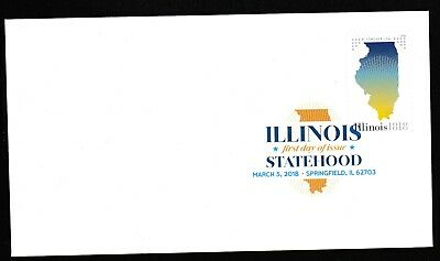 US 5274 Statehood Illinois DCP FDC 2018