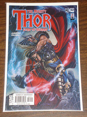 Thor #52 Vol2 The Mighty Marvel Comics October 2002