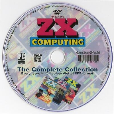 ZX COMPUTING Magazine Collection on Disk EVERY ISSUE Sinclair ZX81/ZX80/QL Games