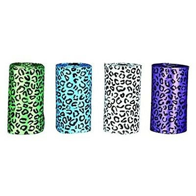 Dog Poop Bags Leopard Print - 4 Rolls Of 20 Bags By Trixie - Roll More Cat Dirt