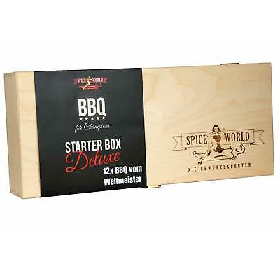 Spiceworld Barbecue for Champions STARTER BOX DELUXE Grillgewürze BBQ Gewürze