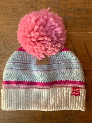 a37a54c6d3a BNWT JOULES LADIES Knitted Bobble Hat - EUR 8