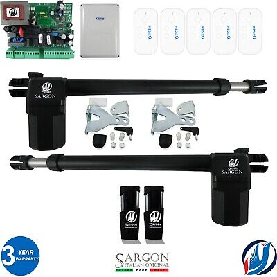 OXYGEN AUTOMATION ELECTRIC SWING GATE OPENER KIT ONE RIGHT RAM SINGLE LEAF WING