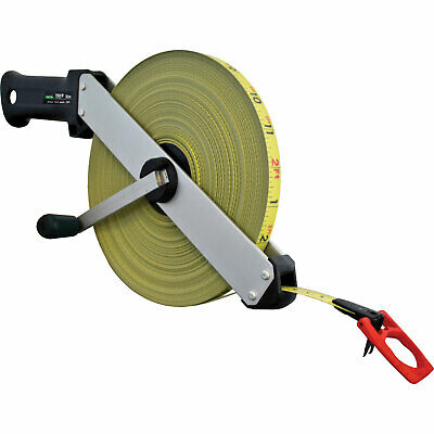 Fisco Tracker Tape Measure Imperial & Metric 165ft / 50m 13mm