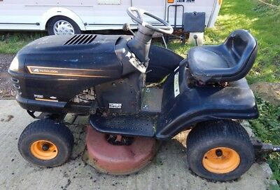 MCCULLOCH P12597 RIDE on lawn mower, Spares or Repairs