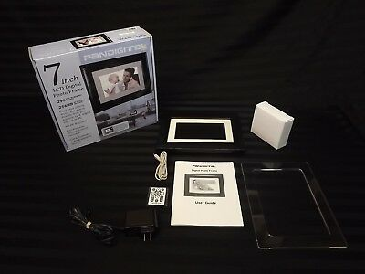Pandigital 8 Inch Digital Photo Frame Complete In Box Tested Working