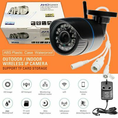 Wireless WIFI IP Security Camera 1080P HD Indoor Outdoor IR LED Night Home Shop