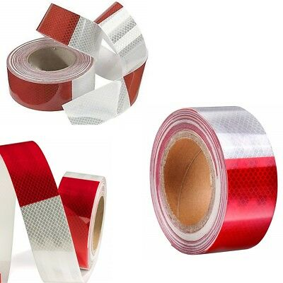 Reflective Adhesive Tape Red W Warning Marker Safety